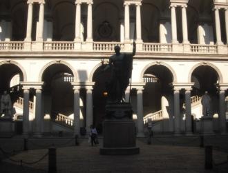 Brera courtyard