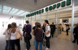 Starbucks on Bocconi campus